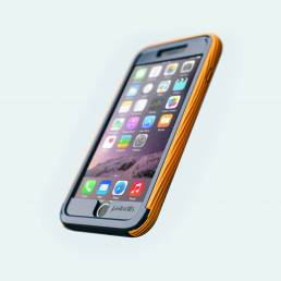Ultra rugged comolded case designed for iphone 6 for cellairis by Analogy Design