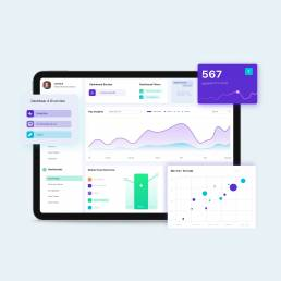 Nano financial dashboard ui scaled uai