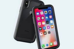 alpha is a slim rugged iphone11 case that is made to withstand drops and impact